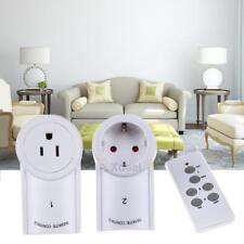 3 Pack Douille de Commutateur d'éclairage Prise de Courant Télécommande Sans Fil