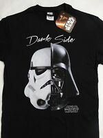 Star Wars Darth Vader Stormtrooper Dark Side Face T-Shirt