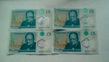Rare  Five Pound Note AA06  also got 666 in serial number,  + two  AA07 and AA06