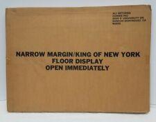 Vintage Movie standee narrow margin king of New York gene hackman Ann new in box