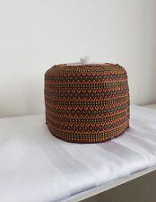 NUOVI Eleganti AFRICANO FATTO a MANO Tradizionale HAUSA kanuri Fulani Cappelli Taglia 22 in (ca. 55.88 cm)