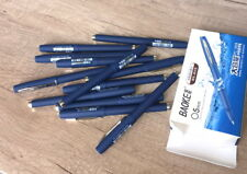 12x Baoke Gel ink pen 0.5 business signature Smooth Writing Rollerball pens Blue