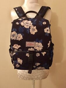 Cath Kidston Navy Blue Floral Backpack