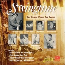 SWINGTIME - DUKE ELLINGTON, HARRY JAMES, COUNT BASIE, BENNY GOODMAN - 2 CD NEU