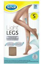 Scholl Light Legs Compression Tights 20 Den Nude Breathable 50 Washes Small