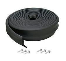 New M-D Building Products 3749 Garage Door Bottom Rubber, 16 Feet, Black