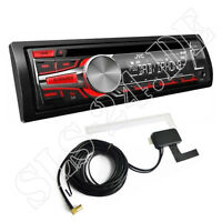 JVC KD-DB67 Autoradio DAB+ CD AUX USB iPod iPhone Ready digital Radio+Antenne