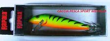 Squid Calamari RAPALA 11 mm 110 cm SQ11 GT pesca ARANCIO VERDE SCHIENA paletta