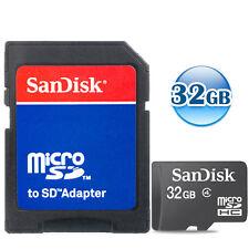 SANDISK CLASS 4 microSDHC 32GB 32G microSD micro SDHC UHS TF Flash Memory Card