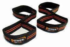 FIGURE EIGHT Weight Lifting Straps - POWER TRAINING STRAPS
