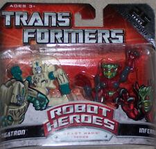 Transformers Robot Heroes Tigatron und Inferno  Neu OVP