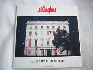 STRANGLERS ALL DAY & ALL OF THE NIGHT CD SINGLE IMPORT 4 TRACKS EP NEW