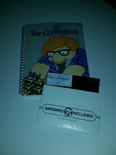 The Consultant Data Base Management System for Commodore 64 Used disk and manual