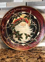 Home Interiors Collectible Christmas Plate Santa/Father Christmas (2003) #56029