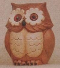 Giessform Keramik # 699 Eule 13 cm hoch
