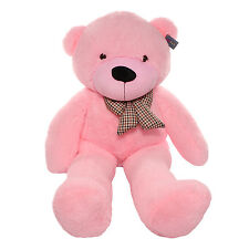 "Joyfay® Pink Giant Teddy Bear 63"" 160cm Stuffed Toy Valentines Gift"