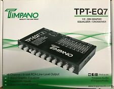 New listing Timpano - Tpt-Eq7 - 7 Band Graphic Equalizer with Subwoofer-Level Control Eq