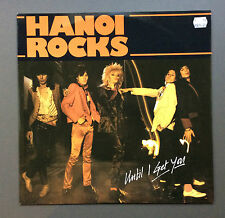 "HANOI ROCKS - Until I Get You 12"" Vinyl Single Record 1983 EX+ Glam Rock Rare"