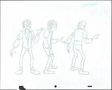 Tales from the Cryptkeeper Original Production Model Drawing Nelvana