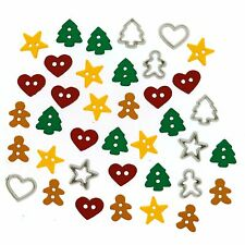 Dress It Up Botones, Navidad Itty Bitty cortar #8, álbumes de recortes, Artesanías