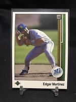 1989 Upper Deck Edgar Martinez RC #768 Seattle Mariners HOF