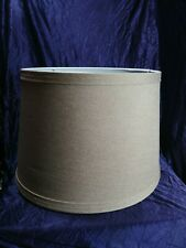 """9"""" By 11"""" Beige Lampshade Burlap Linen Lamp Shade"""