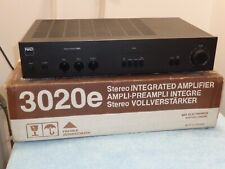 NAD 3020e Stereo Amplifier with Phono, Fully Working.