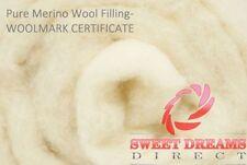 Colchas y edredones color principal blanco 100% lana