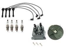 Honda Civic 96-00 Ignition Kit Wire Set Spark Plugs Bosch Distributor Cap Rotor