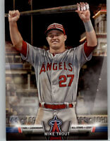 Mike Trout 2018 Topps Update TOPPS SALUTE Insert Angels #S-19