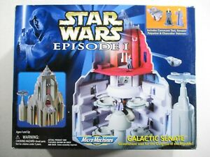 Star Wars Episode I 1 Micro Machines Galactic Senate Complete With Palpatine 2