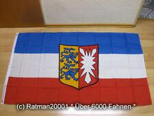 Wappen Wimpel Fahne Flagge 30x150 cm mit 2 Ösen Langwimpel Schleswig Holstein o
