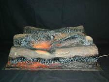 Vintage Rare Magicoal Simulated Electric Fake Fireplace Logs London England