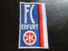 FC Rot Weiß Erfurt-Aufnäher-Patch-DDR Fussball Oberliga-DDR Liga-gestickt