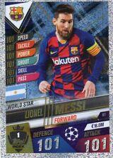 Topps Match Attax 101 Saison 2019/2020 - Lionel Messi W1 World Star