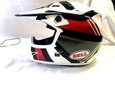 Bell MX-9 MIPS Marauder Helmet Red/White/Black Size L