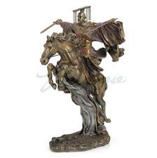 Modern Art Sculpture Resin Personage Liubei Ride Horse Run At Full Speed Statue