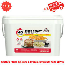 Augason Farms 48-Hour 4-Person Emergency Food Supply, Long-Term Food Storage