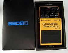 BOSS AC-3 ACOUSTIC SIMULATOR PEDAL MINT IN BOX