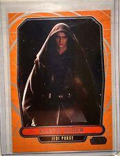 Topps Star Wars Galactic Files S1 #76 Darth Vader Jedi Purge Photo Variation SP