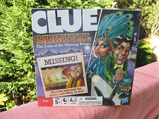 "Clue Carnival ""The Case Of The Missing Prizes"" New & Factory Sealed"