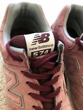Men's NEW BALANCE 574, Suede & Gum Pack! Trainers, Size UK 7, Barely Worn!