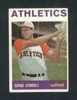 1964 Topps #26 Gino Cimoli EX/EX+ Athletics 93787