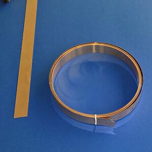Bronzeblech Bronzeband 19 mm Breite x 0,3 mm Dicke, ca. 5m lang Blech Band