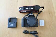 Canon EOS 600D 18.0MP SLR-Digitalkamera Gehäuse - Schwarz