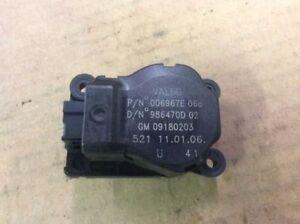 03 04 05 06 07 SAAB 9-3 SEDAN HEATER BLOWER RECIRCULATION MOTOR ACTUATOR