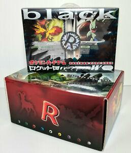 Pokemon Team Rocket Gang Returns Special Black Box Deck Kit Tyranitar Moltres