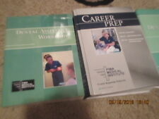 2014 Career Prep Dental Assistant workbook TEXBOOK LOT Pima Medical Institute
