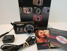 Kodak Easy Share M575 14.0MP Digital Camera W/ Battery USB Cord Booklet,Box ,@Z