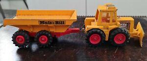 Matchbox Superkings K-5 Muir Hill Tractor & Trailer Snow Plough